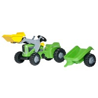 Rolly Toys Kiddy Futura Lader + Anhänger