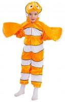 Kinderkostüm Clownfisch 104cm