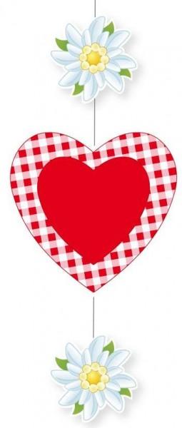 Hängedeko Bayrisch mit Herz