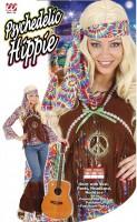 Farbenfrohes Hippiekostüm M