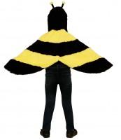 Kostüm/Umhang Biene 2 bis 4 Jahre