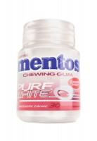 Mentos Gum White Cherry Mint 60g Bottle x 6