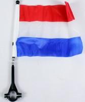 Fahne für Fahrrad Holland