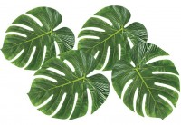 Deko-Palmblätter