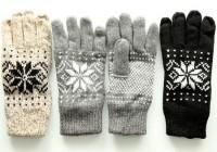 Handschuhe Snowflake