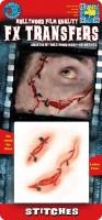 FX 3D Schminke Naht