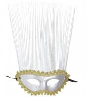 Dominomaske Venezia silber