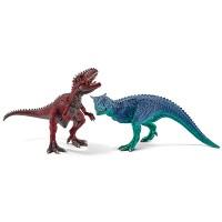Carnotaurus und Giganotosaurus,