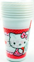 Einweg Becher Hello Kitty