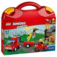 LEGO JUNIORS Löschtrupp-Koffer