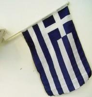 Autofahne Griechenland