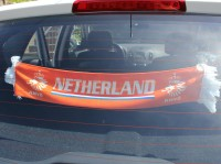 Autofahne Holland