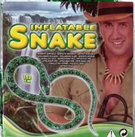 Aufblasbare Schlange