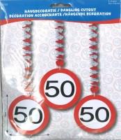 Rotorspiralen Verkehrsschild 50 Jahre