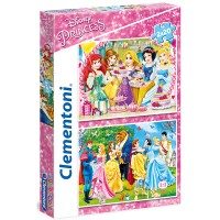 Clementoni Puzzle Princess 2x20 teilig