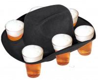 Schwarzer Bierhut