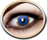 Kontaktlinsen blaue Sonne, 3 Monate