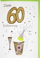 Riesenkarte Geburtstag 60 Jahre