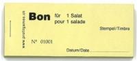 Bon für 1 Salat