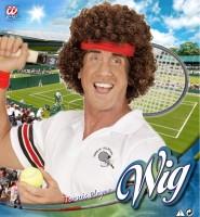 Tennisspieler-Perücke