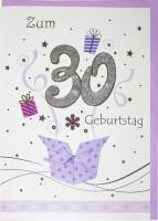 Riesenkarte Geburtstag 30 Jahre
