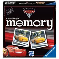 RAVENSBURGER Memory Cars 3, d/f/i