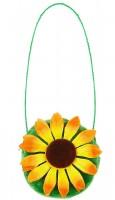 Umhängetasche mit Sonnenblume