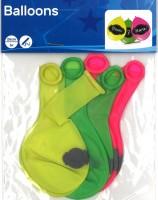 Beschreibbare Neon-Ballone