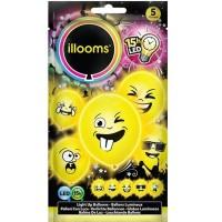 Sombo 5 LED Ballone Imoji