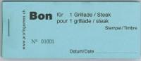 Bon für 1 Grillade/Steak