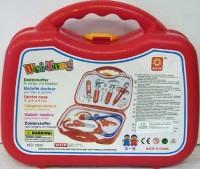 Arztkoffer rot gefüllt