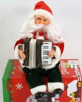 Nikolaus mit Akkordeon