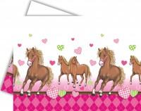 Party-Tischdecke Pferde