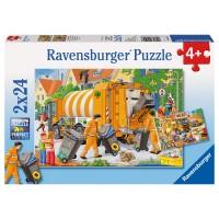 RAVENSBURGER Puzzle Bei der Müllabfuhr