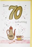 Riesenkarte Geburtstag 70 Jahre