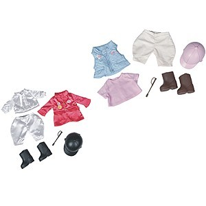 Baby Born Reiten de luxe Set, pink
