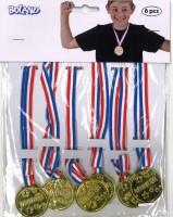 Medaillen 6er-Set Winner