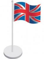 Tischfahnen-Set England