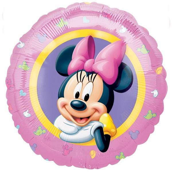 Silberfolienballon Minnie Mouse