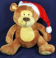 Plüsch Bär Weihnachtsmütze