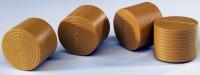4 Rundballen ungewickelt für Claas Rollant 250