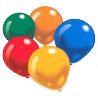 Runde Ballone assortiert Luftballone