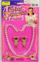 Beautyset mit Perlenkette und Schmuck