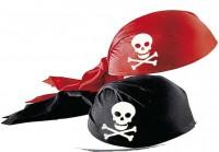 Piratenmütze Filz/Stoff