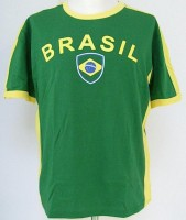 T-Shirt Brasilien XXL 100% Baumwolle