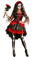Kostüm Braut Dia de los Muertos XS