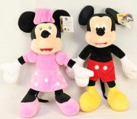 Plüsch Minnie & Mickey