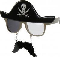 Partybrille Pirat
