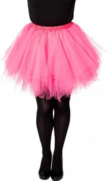 Tutu Pink Kindergrösse 116/140 116cm