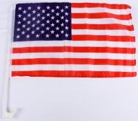 Auto-Fahne USA